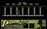 Indiana Jones and the Last Crusade: The Action Game Commodore 64 Beginning of Level 3: Choose the right door