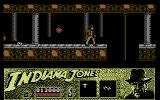Indiana Jones and the Last Crusade: The Action Game Commodore 64 Avoid the rats and the great balls of fire