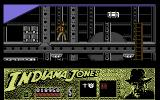 Indiana Jones and the Last Crusade: The Action Game Commodore 64 Beginning of Level 4: Fight your way through the Zeppelin