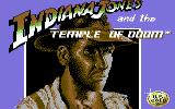 Indiana Jones and the Temple of Doom Commodore 64 Title screen