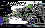 The Train: Escape to Normandy Commodore 64 Title screen