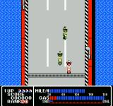 Rally Bike NES Competing against other motorcyclists.