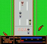 Rally Bike NES At the finish line