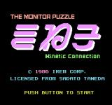 Kinetic Connection NES Title screen