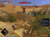 Rise & Fall: Civilizations at War Windows Cleopatra gives chase in a chariot