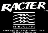 Racter Apple II Title screen