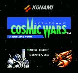 Cosmic Wars NES Title Screen