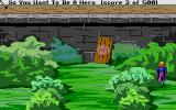 Hero's Quest: So You Want To Be A Hero Atari ST Not just a good place to practice throwing...