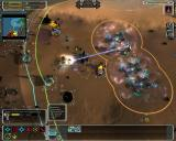 Supreme Commander: Forged Alliance Windows four experimentals wreaking the enemy base