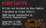 Mindfighter Atari ST Title screen