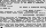 Dungeon Atari ST Version history
