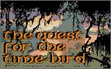 The Quest for the Time-Bird Atari ST Title screen