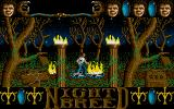 Clive Barker's Nightbreed:  The Action Game Atari ST Starting location