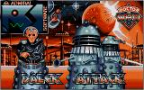 Dalek Attack Atari ST TItle screen