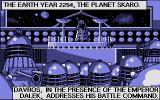 Dalek Attack Atari ST More introduction