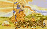 Betrayal Atari ST Title screen