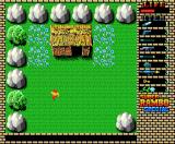 Super Rambo Special MSX Stage 3: Another hut, more flowers to pick