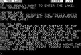 Zork III: The Dungeon Master Apple II Oh, how worried should I be?