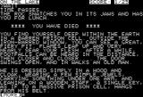 Zork III: The Dungeon Master Apple II Quite worried.  All the same, death is not the end...