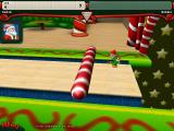 Elf Bowling 7 1/7: The Last Insult Windows After a throw, the lane is cleared of any fallen elves or debris.