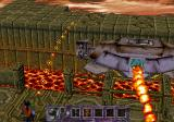 Contra: Legacy of War SEGA Saturn First level boss. Your biggest worry here is the camera position which fails to show all the enemies behind you.