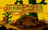 3 Skulls of the Toltecs DOS Title screen