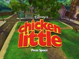 Disney's Chicken Little Windows Title screen