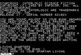 Starcross Apple II Introduction