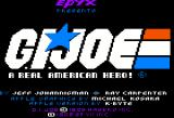 G.I. Joe: A Real American Hero Apple II Title screen