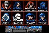 G.I. Joe: A Real American Hero Apple II Cobra opponents