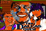 The Dallas Quest Apple II Splash screen