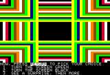 Dragon's Keep Apple II Either an interface tutorial or a graphics test... trippy either way!
