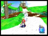 Super Mario Sunshine GameCube Clean up goop with water
