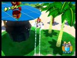 Super Mario Sunshine GameCube Use FLUDD to hover above the ground
