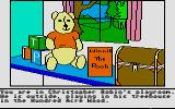 Winnie the Pooh in the Hundred Acre Wood Atari ST Starting location