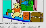 Winnie the Pooh in the Hundred Acre Wood Atari ST Progress measurement -- and a Hitchhikers' Guide joke?!