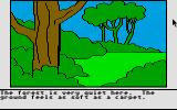 Winnie the Pooh in the Hundred Acre Wood Atari ST Exploring the woods
