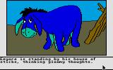 Winnie the Pooh in the Hundred Acre Wood Atari ST And a good day to you, sir depressed donkey