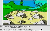 Winnie the Pooh in the Hundred Acre Wood Atari ST I'm looking under every single rock