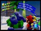 Super Mario Sunshine GameCube The locals may provide you with useful information, or just chat