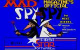 Spy vs Spy Atari ST Title screen