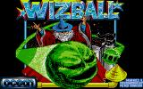 Wizball Atari ST Splash screen