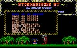 Stormbringer Atari ST Action menu