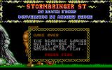 Stormbringer Atari ST I should have known better than to mess with something called a bearwolf