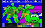 Electric Crayon Deluxe: Teenage Mutant Ninja Turtles: World Tour Atari ST I took a lazy crack at painting it