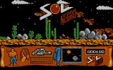 Sol Negro Atari ST Dude's title screen
