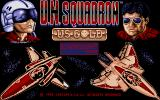 U.N. Squadron Atari ST Title screen