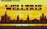 Welltris Atari ST Title screen