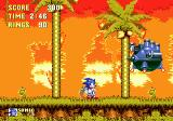 Sonic the Hedgehog 3 Genesis First Level Boss