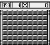 Minesweeper Game Boy A virginal minefield on level 1